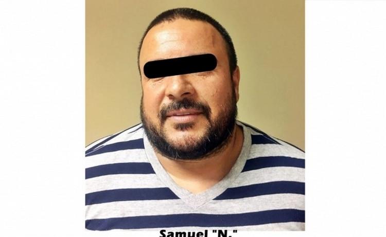 """Samuel """"N"""", alias """"El Tío Sam """" o """"El Sam"""" , líder de la célula criminal """"Los Dámaso"""" (Foto: Especial)"""