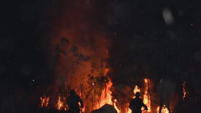 Fuego avanza en el Beni, amenaza a dos comunidades indígenas