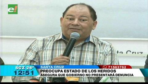 Romero asegura que el gobierno no presentará denuncia contra los agresores