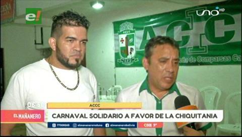 """ACCC invita al """"Carnaval Solidario"""" este domingo en apoyo a la Chiquitania"""