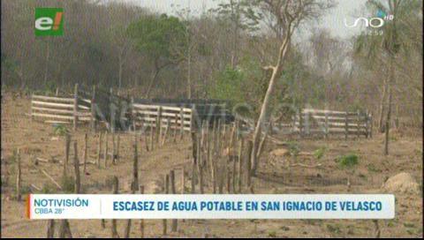 Escasez de agua en San Ignacio de Velasco