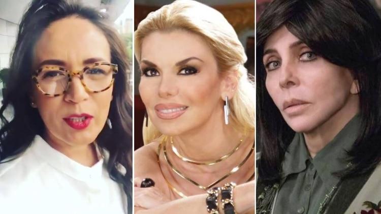 Entre Yolanda Andrade y Verónica Castro surgió una tercera mujer: Lizzie Barrera (Foto: Especial)