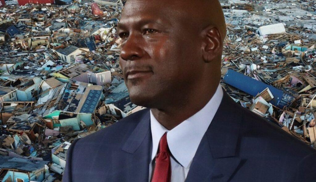 Resultado de imagen para Michael Jordan dona un millón de dólares para los damnificados del huracán Dorian en las Bahamas
