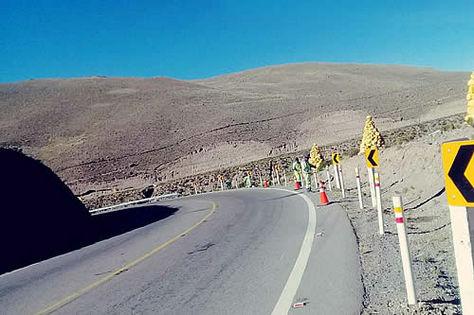 Una vía de Bolivia. Fotografía referencial.