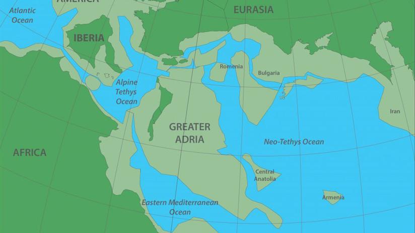 Científicos hallan Gran Adria, el continente oculto debajo de Europa