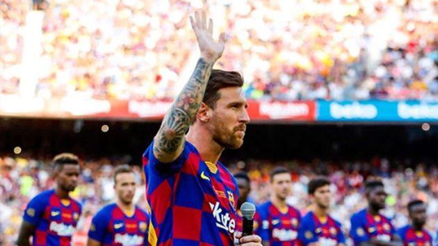 Barcelona reaccionó ante las declaraciones de Messi