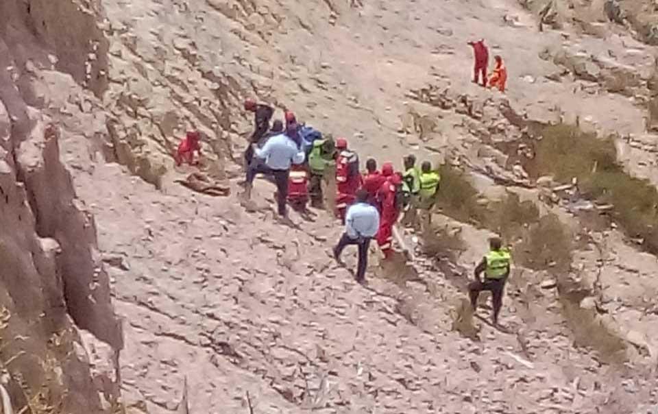 La Paz. Conductor de motocicleta muere al embarrancarse camino a Río Abajo - eju.tv