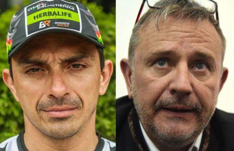 Juan Carlos Salvatierra (izq.) y Etienne Lavigne. Fotos: Archivo-La Razón