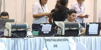 Se reinicia el recuento de votos en el Tribunal Electoral Departamental en Santa Cruz