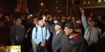 Ver video Manifestaciónesy bloqueos en El Alto en apoyo…