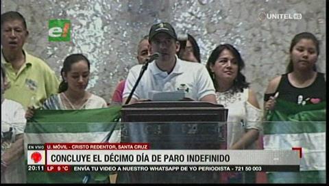 Oposición da 48 horas de plazo a Evo Morales para renunciar
