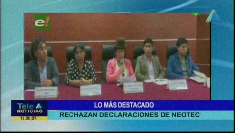 Video titulares de noticias de TV – Bolivia, noche del viernes 1 de noviembre de 2019