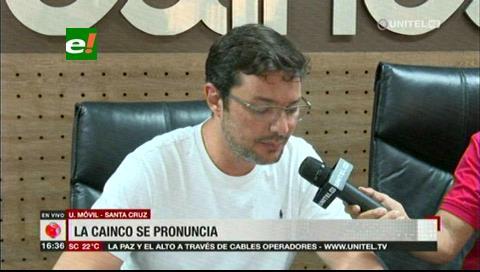 Cainco pide la renuncia del presidente Evo Morales