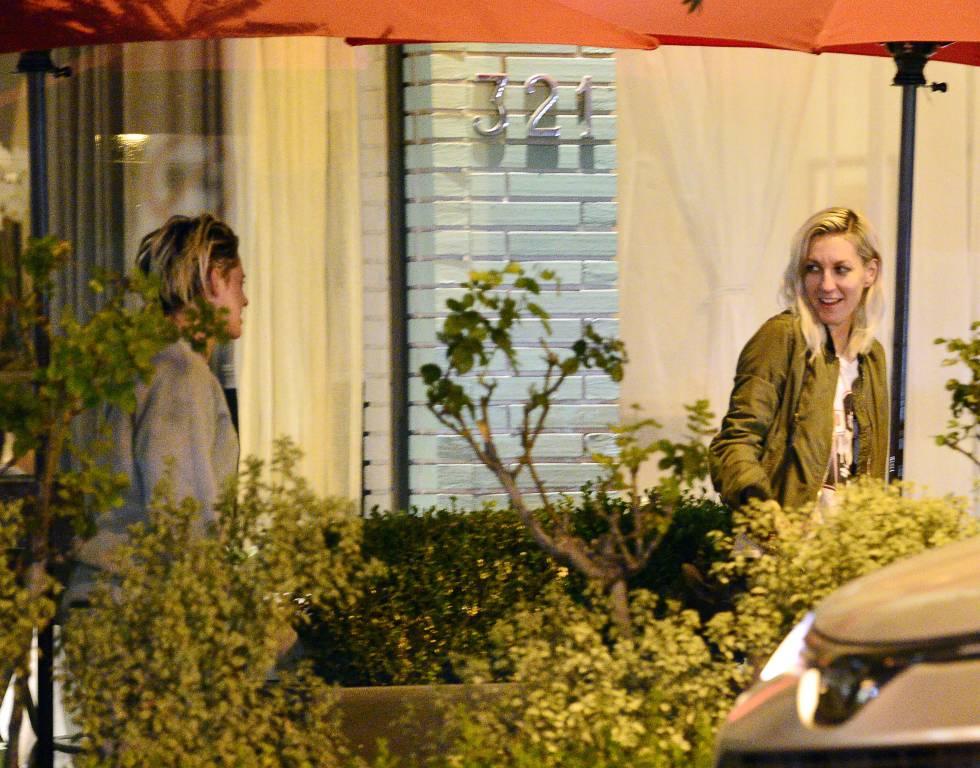 Kristen Stewart y Dylan Meyer, el pasado octubre.