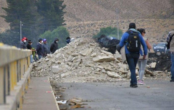 Orureños se dirigen a Sora para abrir paso a caravanas de Chuquisaca y Potosí - eju.tv