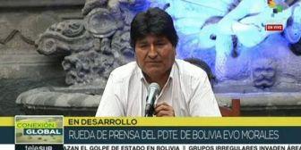 Evo Morales: 'Si mi pueblo pide, estamos dispuestos a volver a pacificar'