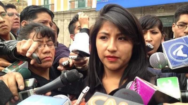 Pedirán la detención de la hija de Evo por enriquecimiento ilícito