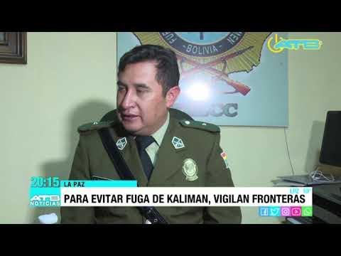 Policía pide cerrar fronteras para evitar la fuga del excomandante William Kaliman