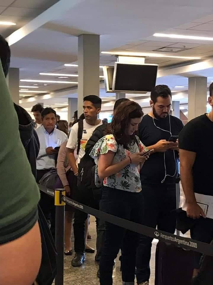 Andrónico Rodríguez viajó a la Argentina para reunirse con Evo