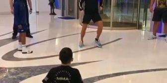 Ver Hermoso momento entre Cristiano, su hijo y Alí Amir 😍⚽️ – Si alguien te pregunta qué puede…
