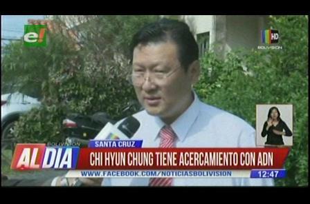 Chi Hyun Chung tiene acercamiento con ADN