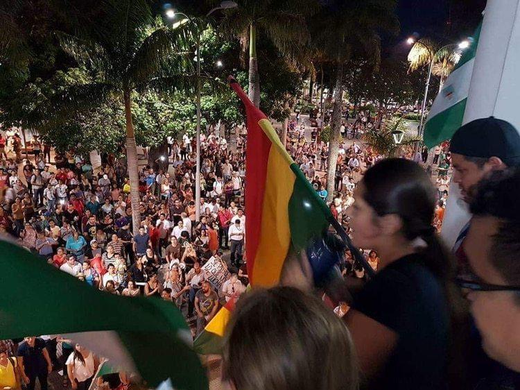 Alejandra aseguró que Evo Morales dificultó la pacificación del país tras su salida (Foto: Cortesia)