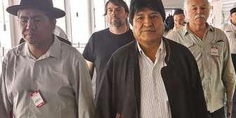 Anticipan que Evo instalará su 'búnker' de trabajo en Orán, a 20 minutos de la frontera con Bolivia