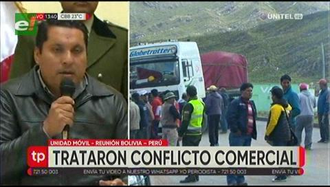 Bolivia y Perú ratifican comercio y refuerzan controles fronterizos