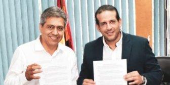 Firman alianza: Exgobernador de Tarija da su apoyo al binomio Camacho-Pumari