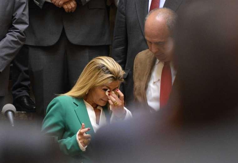 15 frases que dejó el discurso de la presidente Jeanine Áñez