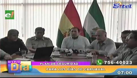 Gobierno coordina seguridad para el Carnaval 2020