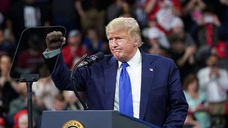 """Trump: """"Les gusto a los manifestantes iraníes; ellos aman a EE.UU."""""""