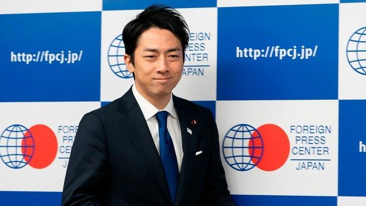 El ministro de Medio Ambiente de Japón, Shinjiro Koizumi (Photo by Masatoshi Okauchi/Shutterstock)