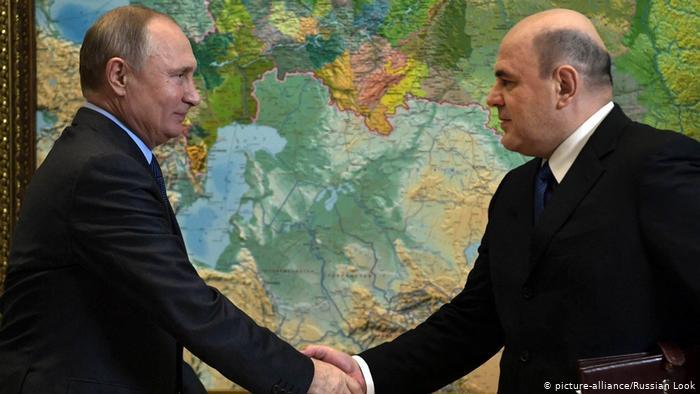 Putin y Mishustin