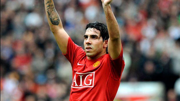 Bomba de la prensa italiana Tevez vuelve al Manchester United
