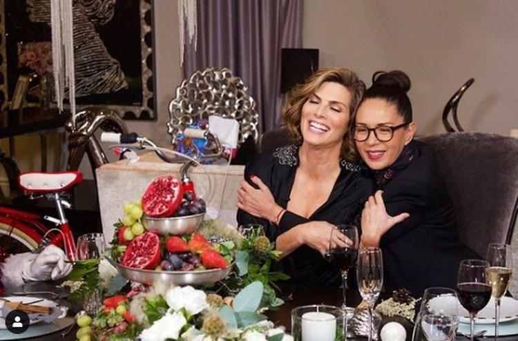 Yolanda Andrade confesó que se encuentra muy feliz por el compromiso de su ex pareja y gran amiga, Montserrat Oliver. (Foto: Instagram)