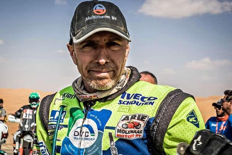 El holandés Edwin Straver corría su tercer Dakar. Un grave accidente acabó con su vida. Foto internet
