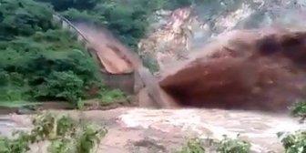 Ver video – Impresionantes las imágenes del desborde del…