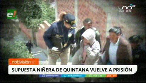 Envían a la cárcel a la niñera que trabajaba para Quintana por tenencia de arma