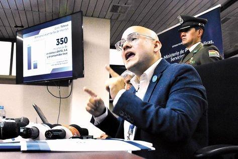 La Paz. Montes presentó en diciembre un informe sobre las irregularidades cometidas en la gestión del MAS.