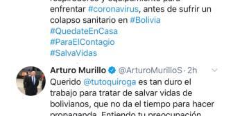 Controversia entre 'Tuto Quiroga y Ministro Gobierno' por laboratorios para detecció… Controversia entre 'Tuto Quiroga y Ministro Gobierno' por…