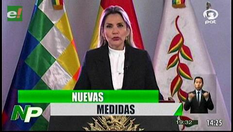 Video titulares de noticias de TV – Bolivia, noche del martes 17 de marzo de 2020