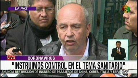 Ministro Murillo anticipa medidas de la reunión de gabinete por el coronavirus