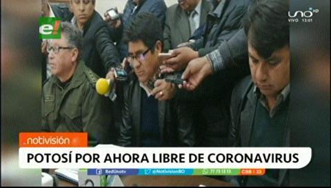 Potosí: Autoridades confirman que tres casos sospechosos de coronavirus dieron negativo