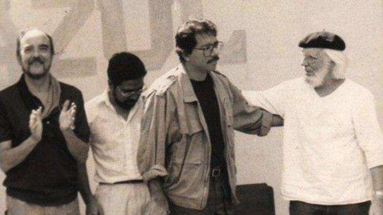 Cardenal y Daniel Ortega, en tiempos en que la revolución sandinista los encontraba juntos