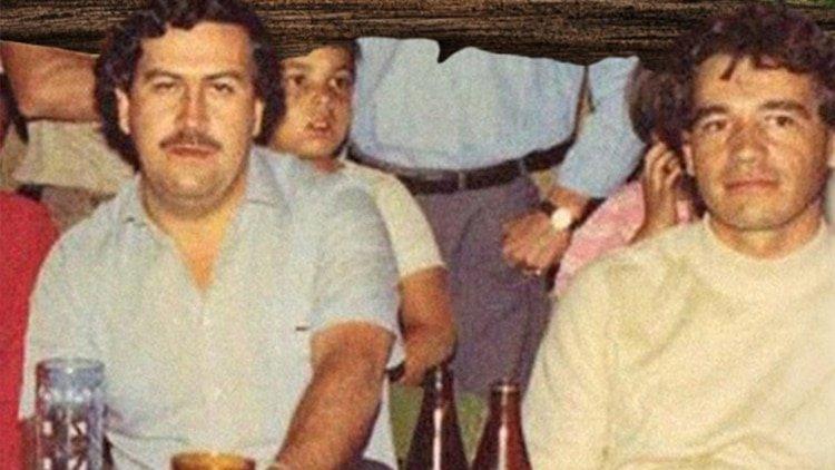 Pablo Escobar y Carlos Lehder, fundadores del Cartel de Medellín.