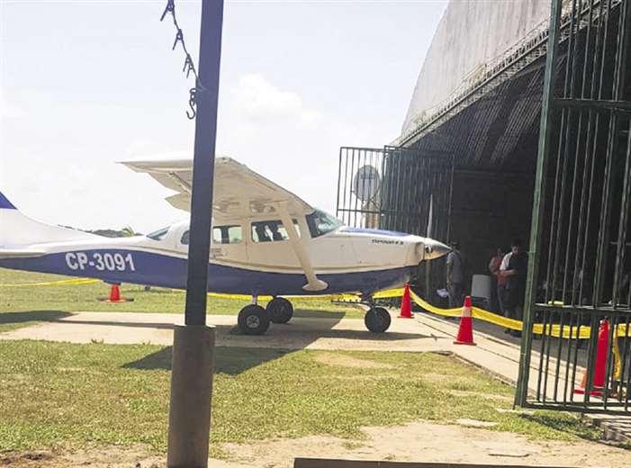 Una de las avionetas incautadas en operativo de la Felcn