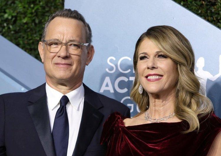 Tom Hanks y Rita Wilson dieron positivo a coronavirus la semana pasada