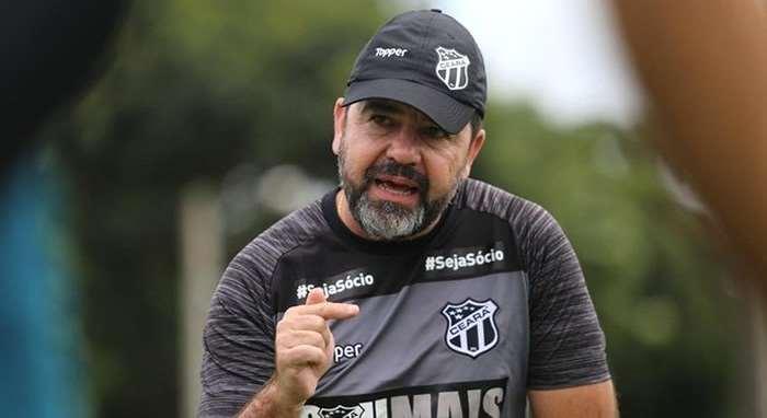Enderson Moreira, director técnico de Cruzeiro. Foto. Internet