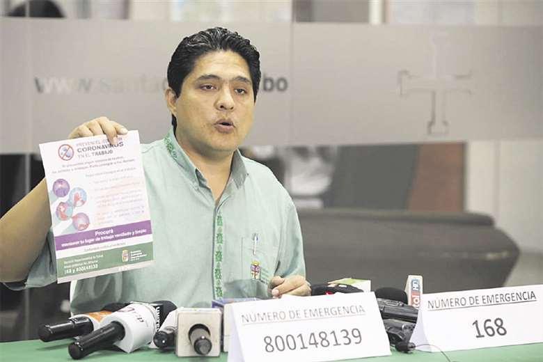 Marcelo Ríos, director del Sedes, comanda la lucha contra el Covid-19. Foto: Jorge Uechi